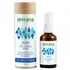 Levrana Натуральный дезодорант ZERO - Deo Crystal Spray 50мл