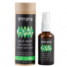 Levrana Натуральный дезодорант WILD MINT - Deo Crystal Spray FOR MEN 50мл